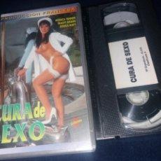 Peliculas: CURA DE SEXO- VHS- MONICA TANNER- TRACEY ADAMS- JESSICA MATY (2). Lote 164667814