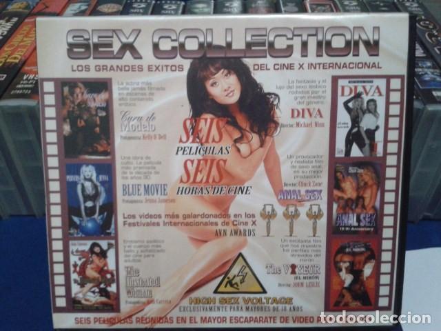 VHS CINE EROTICO( SEX COLLECTION - 6 PELICULAS )ASIA CARRERA -TRACY LOVE - CHUCK ZONE - JULI ASHTON (Coleccionismo para Adultos - Películas)