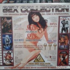 Peliculas: VHS CINE EROTICO( SEX COLLECTION - 6 PELICULAS )ASIA CARRERA -TRACY LOVE - CHUCK ZONE - JULI ASHTON. Lote 167759548