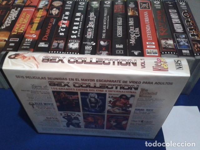 Peliculas: VHS CINE EROTICO( SEX COLLECTION - 6 PELICULAS )ASIA CARRERA -TRACY LOVE - CHUCK ZONE - JULI ASHTON - Foto 2 - 167759548