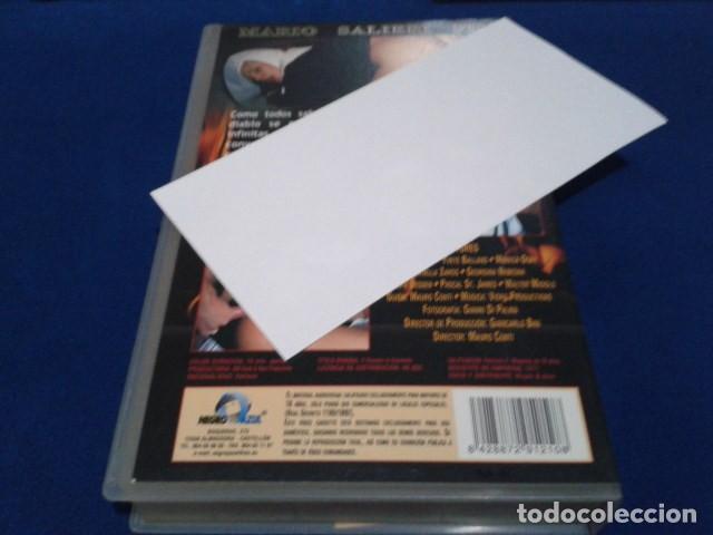 Peliculas: VHS EROTICA ( EL DIABLO EN EL CONVENTO )NEGRO Y AZUL - MARIO SALIERI - SILVIA FORRER, YVETE BALLAND - Foto 3 - 168223540