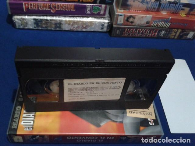 Peliculas: VHS EROTICA ( EL DIABLO EN EL CONVENTO )NEGRO Y AZUL - MARIO SALIERI - SILVIA FORRER, YVETE BALLAND - Foto 5 - 168223540