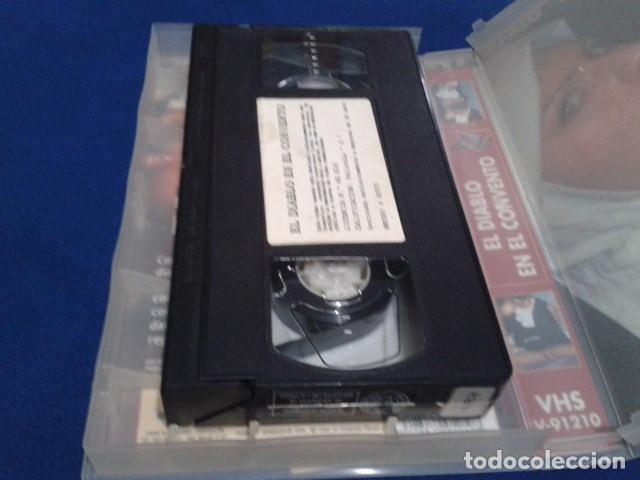 Peliculas: VHS EROTICA ( EL DIABLO EN EL CONVENTO )NEGRO Y AZUL - MARIO SALIERI - SILVIA FORRER, YVETE BALLAND - Foto 7 - 168223540