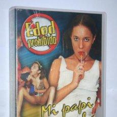 Peliculas: MI PAPI NO LO SABE *** PELÍCULA CINE VHS ADULTOS (EDAD PROHIBIDA) ** PRODUCCIONES RHUIDER (ALEMANIA). Lote 168627420