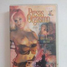 Peliculas: VHS EROTICO/PRESAS DEL ORGASMO/DANIELLA RUSH.. Lote 169624620