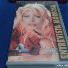 Peliculas: VHS ADULTOS X ( ENTREVISTA MORBOSA ) NEGRO & AZUL MAX BELLOCCHIO: PENELOPE VALENTINI, TIKA BISSO. Lote 169697564