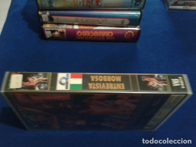 Peliculas: VHS ADULTOS X ( ENTREVISTA MORBOSA ) NEGRO & AZUL MAX BELLOCCHIO: PENELOPE VALENTINI, TIKA BISSO - Foto 2 - 169697564
