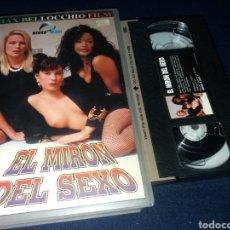 Peliculas: EL MIRON DEL SEXO- VHS- MAX BELLOCCHIO- VENUS- BEATRICE VALLE (X5). Lote 170342436