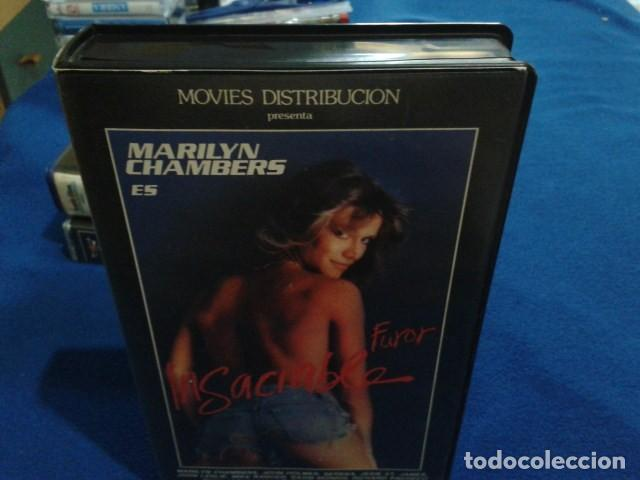 Peliculas: VHS IVS PORNO ( FUROR INSACIABLE ) MARILYN CHAMBERS, JOHN HOLMES, SERENA, DIRECTOR GODFREY DANIELS - Foto 4 - 170552256