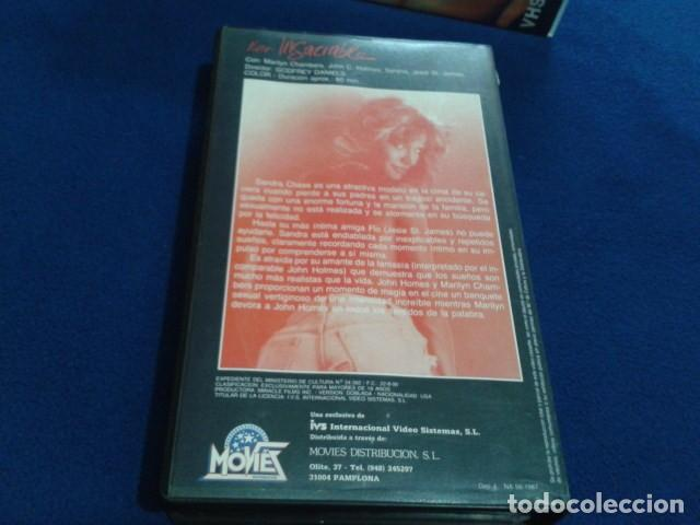 Peliculas: VHS IVS PORNO ( FUROR INSACIABLE ) MARILYN CHAMBERS, JOHN HOLMES, SERENA, DIRECTOR GODFREY DANIELS - Foto 6 - 170552256