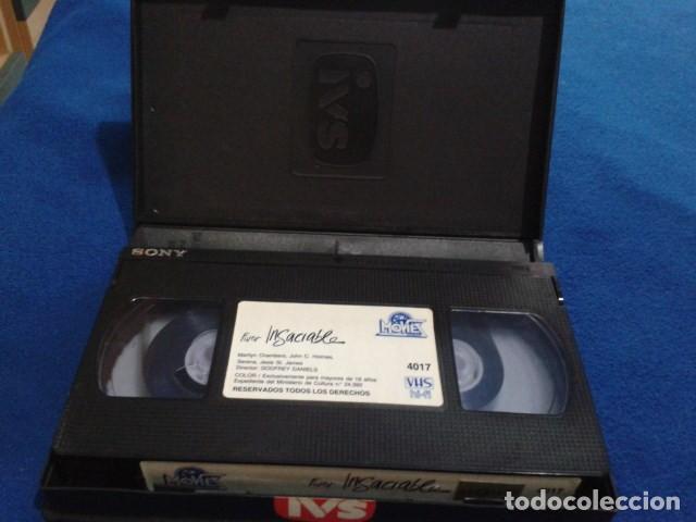 Peliculas: VHS IVS PORNO ( FUROR INSACIABLE ) MARILYN CHAMBERS, JOHN HOLMES, SERENA, DIRECTOR GODFREY DANIELS - Foto 8 - 170552256