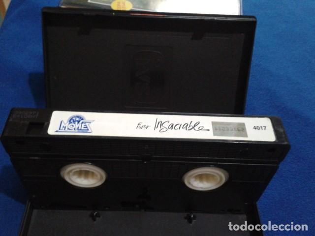 Peliculas: VHS IVS PORNO ( FUROR INSACIABLE ) MARILYN CHAMBERS, JOHN HOLMES, SERENA, DIRECTOR GODFREY DANIELS - Foto 9 - 170552256