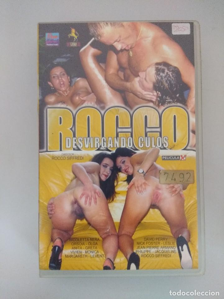 VHS EROTICO//ROCCO SIFFREDI/ANITA. (Coleccionismo para Adultos - Películas)
