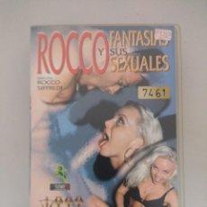 Peliculas: VHS EROTICO/ROCCO Y SUS FANTASIAS SEXUALES/ROCCO SIFFREDI.. Lote 171336232