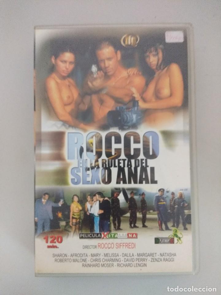 VHS EROTICO/ROCCO EN LA RULETA DEL SEXO/ROCCO SIFFREDI/AFRODITA. (Coleccionismo para Adultos - Películas)