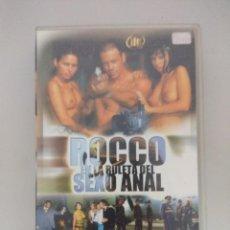 Peliculas: VHS EROTICO/ROCCO EN LA RULETA DEL SEXO/ROCCO SIFFREDI/AFRODITA.. Lote 171336304