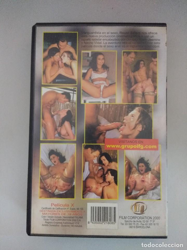 Peliculas: VHS EROTICO/ROCCO FOLLAM................/NACHO VIDAL. - Foto 2 - 171336787