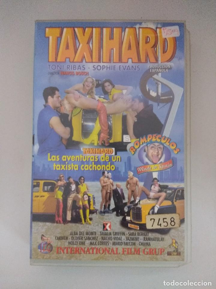 VHS EROTICO/TAXIHARD/NACHO VIDAL. (Coleccionismo para Adultos - Películas)