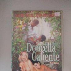 Peliculas: VHS EROTICO/LA DONCELLA CALIENTE/NACHO VIDAL.. Lote 171336999