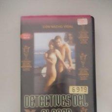 Peliculas: VHS EROTICO/DETECTIVES DEL PLACER/NACHO VIDAL/CANDELA.. Lote 171337163
