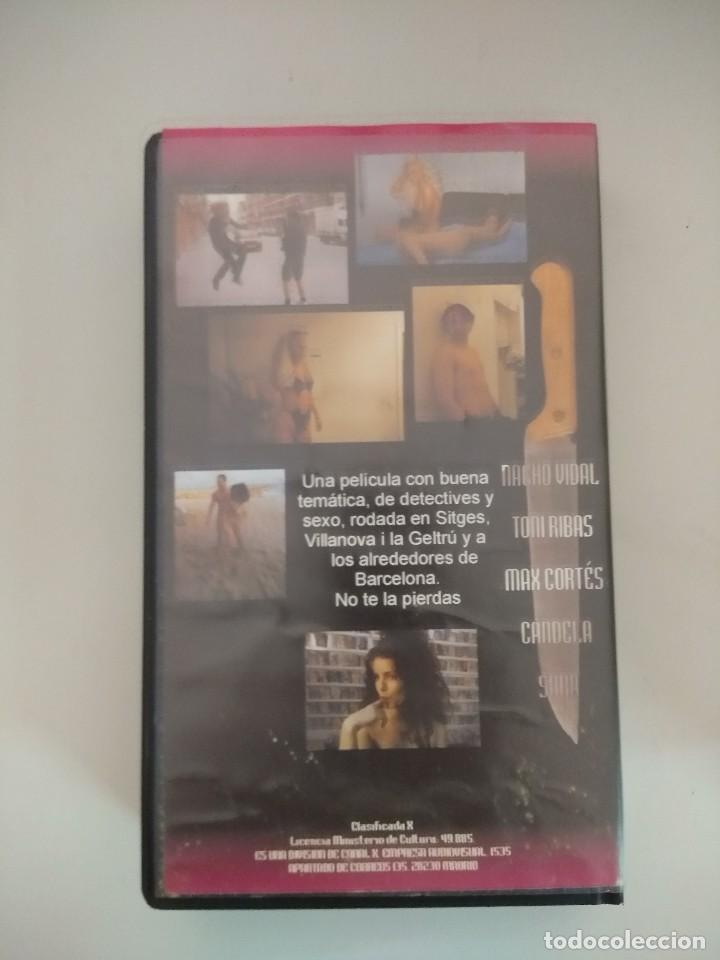 Peliculas: VHS EROTICO/DETECTIVES DEL PLACER/NACHO VIDAL/CANDELA. - Foto 2 - 171337163