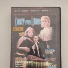 Films: VHS EROTICO/CRAZY FOR LINDA/STEFANIA SARTORI.. Lote 201844032