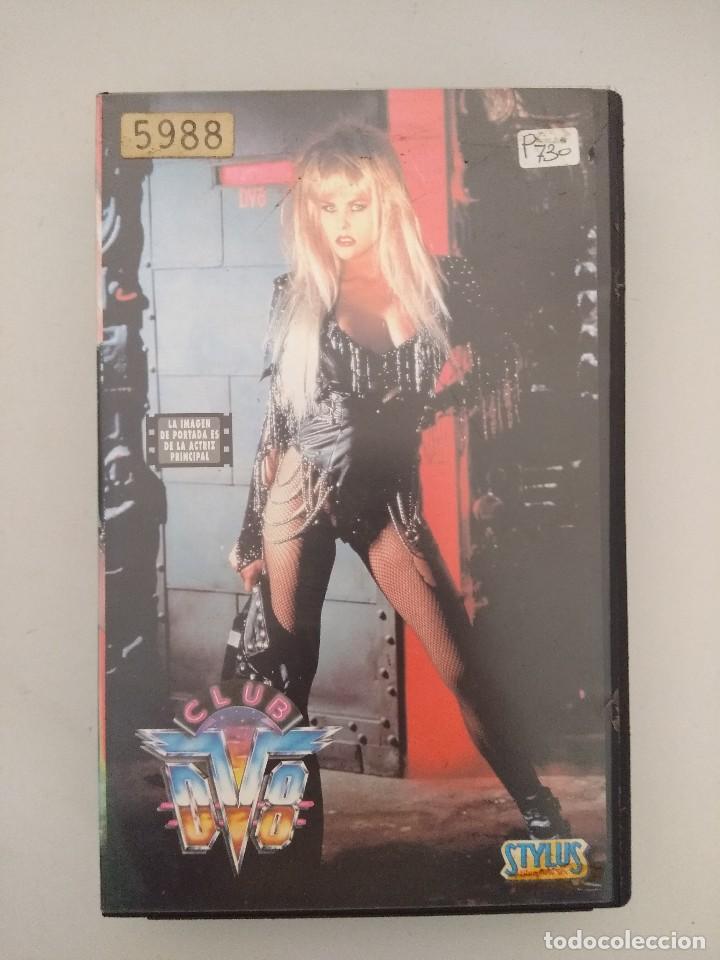 VHS EROTICO/CLUB DV8/ROCCO SIFFREDI. (Coleccionismo para Adultos - Películas)