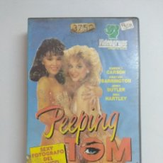 Films: VHS EROTICO/PEEPING TOM/KIMBERLY CARSON.. Lote 171411364