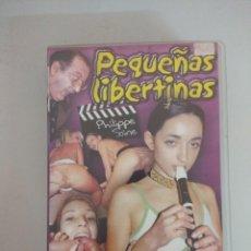 Films: VHS EROTICO/PEQUEÑAS LIBERTINAS.. Lote 171496204
