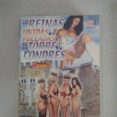 Films: VHS EROTICO/LAS REINAS UNIDAS.......EN LA TORRE DE LONDRES/JOANNE.. Lote 171504964