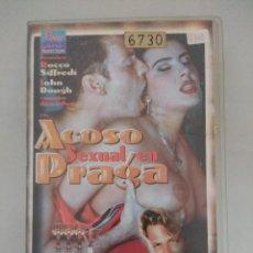Peliculas: VHS EROTICO/ACOSO SEXUAL EN PRAGA/ROCCO SIFFREDI. . Lote 171509359