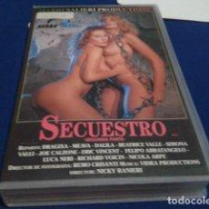 Peliculas: VHS MARIO SALIERI PRODUCTIONS ( SECUESTRO 2ª PARTE ) DRAGIXA, MEAVA, DALILA, BEATRICE VALLE, SIMONA . Lote 171769807