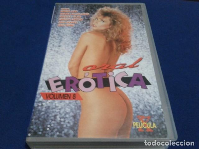 Peliculas: VHS X ( ORAL EROTICA - VOL 8 ) GINGER LYNN, SHANNA MCCULLOUGH, SHERI ST. CLAIR, CHRISTY CANYON - Foto 1 - 171770449
