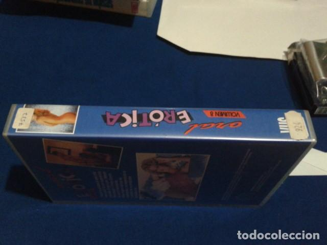 Peliculas: VHS X ( ORAL EROTICA - VOL 8 ) GINGER LYNN, SHANNA MCCULLOUGH, SHERI ST. CLAIR, CHRISTY CANYON - Foto 2 - 171770449