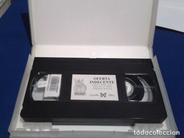 Peliculas: VHS X PAPILLON FILMS ( OFERTA INDECENTE ) SARA JANE HAMILTON, DEBORAH WELLS, JESSICA FOX - BIONCA - Foto 5 - 171771763