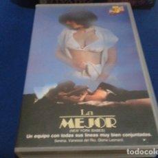 Peliculas: VHS EROTICO SATYRHORSE ( LA MEJOR - NEW YORK BABES ) SERENA, VANESA DEL RIO, GLORIA LEONARD. Lote 172269022