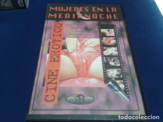 VHS CINE EROTICO GOLD ERA ( MUJERES EN LA MEDIANOCHE ) TITULO ORIGINAL: MADCHEN NACH MITTERNACH (Coleccionismo para Adultos - Películas)