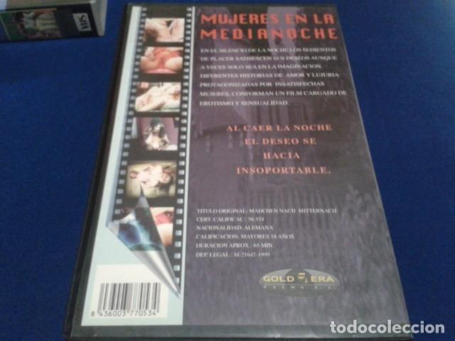 Peliculas: VHS CINE EROTICO GOLD ERA ( MUJERES EN LA MEDIANOCHE ) TITULO ORIGINAL: MADCHEN NACH MITTERNACH - Foto 3 - 172270319