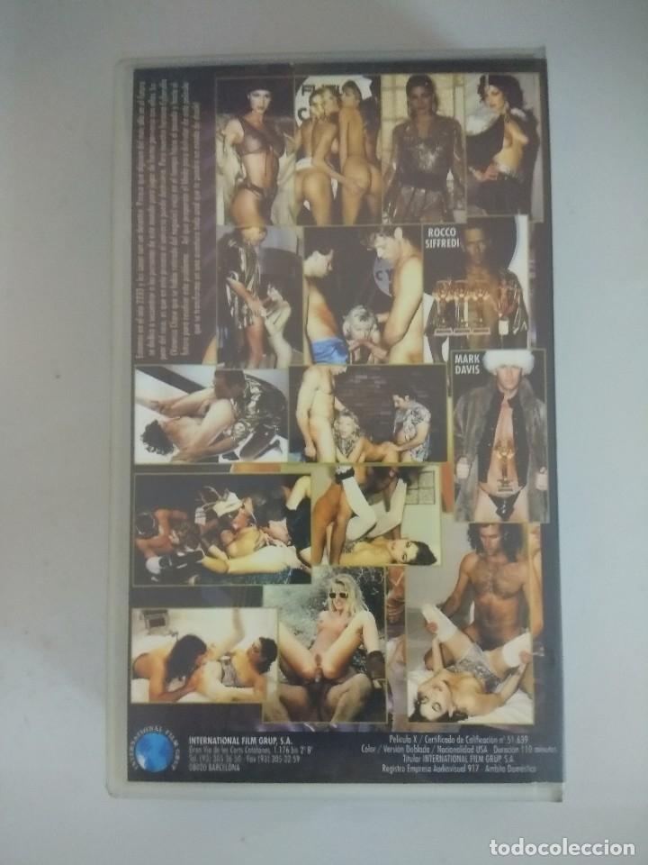 Peliculas: VHS EROTICO/CYBERANAL/KELLY TRUMP-ROCCO SIFFREDI. - Foto 2 - 172278622