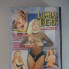 Peliculas: VHS EROTICO/LUANAS FRIENDS/LUANA BORGIA-MANYA-ROCCO SIFFREDI.. Lote 172281020