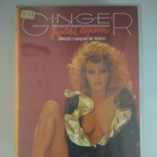 Films: VHS EROTICO/GINGER RIDES AGAIN/GINGER LYNN.. Lote 172281990