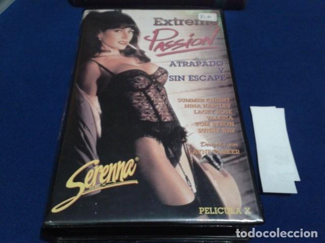 VHS X SERENNA SEX EROTICA( EXTREME PASSION ) SUMMER KNIGHT, NINA HARTLEY, LACEY ROSE, VALERIA (Coleccionismo para Adultos - Películas)