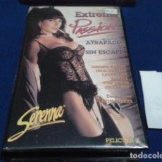 Peliculas: VHS X SERENNA SEX EROTICA( EXTREME PASSION ) SUMMER KNIGHT, NINA HARTLEY, LACEY ROSE, VALERIA . Lote 172456227