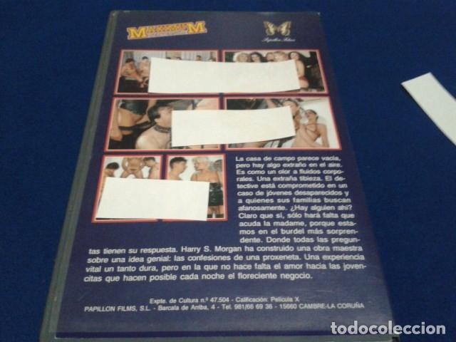 Peliculas: VHS X MAXIMUM PERVERSUM ( LA CONFESION ) DIRECTOR HARRY S. MORGAN CON ANAIS, ANGELIQUE, EMMANUELLE, - Foto 2 - 172457034