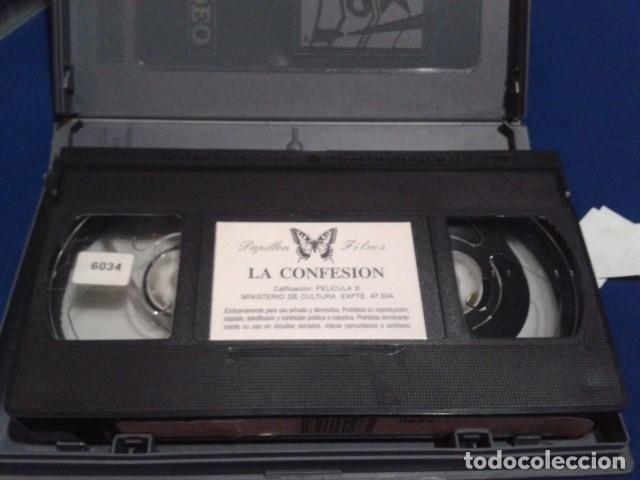 Peliculas: VHS X MAXIMUM PERVERSUM ( LA CONFESION ) DIRECTOR HARRY S. MORGAN CON ANAIS, ANGELIQUE, EMMANUELLE, - Foto 7 - 172457034