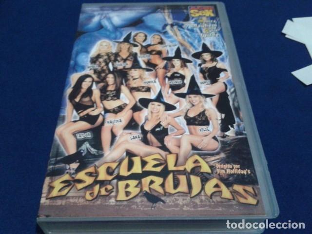 VHS X EROTICA ACID SEX ( ESCUELA DE BRUJAS ) DIRIGIDA POR JIM HOLLIDAY´S: MONICA MAYHEM, KELIE WILDE (Coleccionismo para Adultos - Películas)