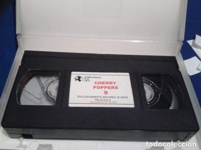 Peliculas: VHS X EROTICA TOP GOLD SEX ( CHERRY POPPERS - CASTIGADAS POR PORTARSE MAL 9 ) DIRECTOR MAX STEINER - Foto 4 - 172463615