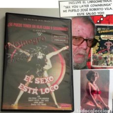 Peliculas: DVD PELÍCULAS EL SEXO ESTÁ LOCO SEE YOU LATER COWABUNGA PELÍCULA JESÚS FRANCO JESS LINA ROMAY AIRBAG. Lote 174432118