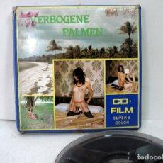Filmes: PELICULA SUPER 8 MM - EROTICA PARA ADULTOS - CD FILM- VERBOGENE PALMEN 100 MTRS COLOR -8M M. Lote 177230098