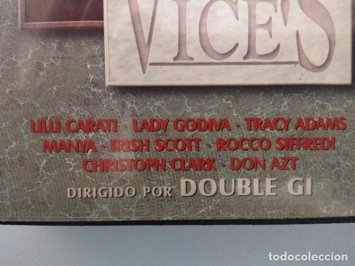Peliculas: VHS EROTICO/MY WIFE VICES/LILLI CARATI/MANYA-ROCCO SIFFREDI. - Foto 2 - 179227952